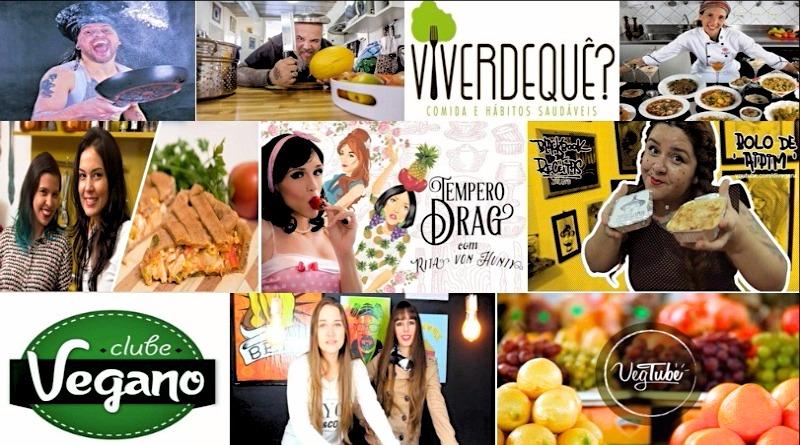 10 canais do Youtube de receitas veganas