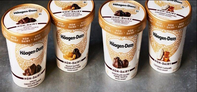 Häagen-Dazs lança quatro sabores de sorvetes veganos nos EUA