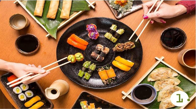 Primeiro restaurante de comida japonesa vegana do Brasil