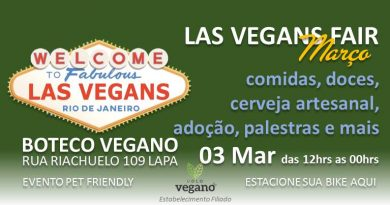Evento vegano Las Vegans Fair, no Rio de Janeiro