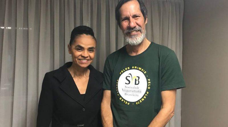 Marina Silva diz que incentivará a alimentação vegetariana